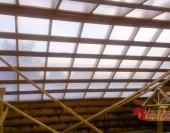 Стропильная система крыши и изолирующий слой