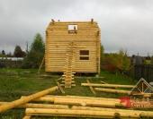 По проекту дом довольно высокий