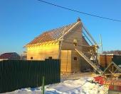 Все готово к покрытию крыши