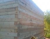 18 рядов дома из бруса собрано