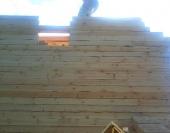 Собираем фронтоны из бруса