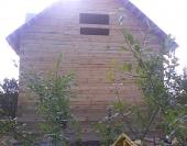 Крыша покрыта рубероидом